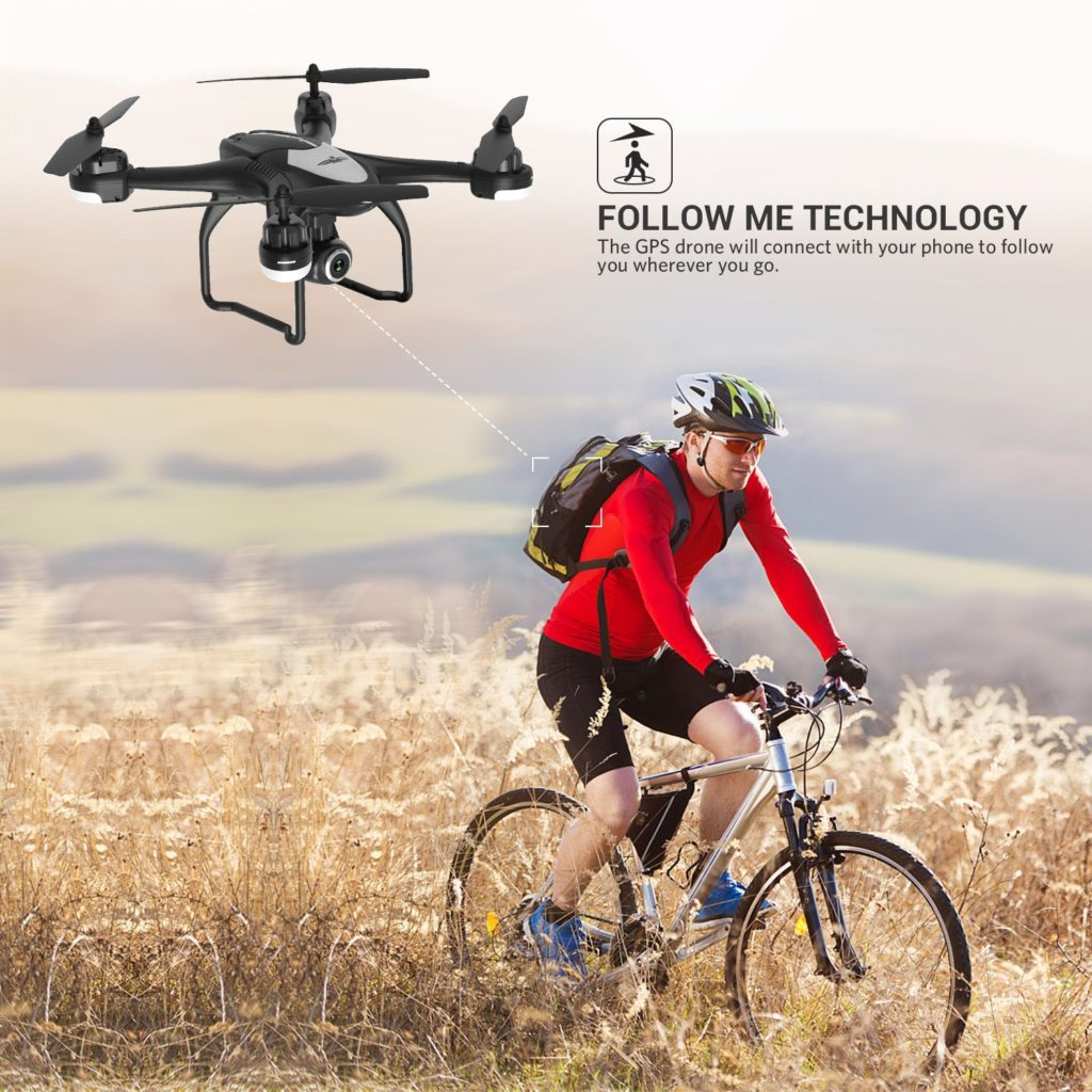 Potensic T18 GPS FPV RC Drone Follow Me