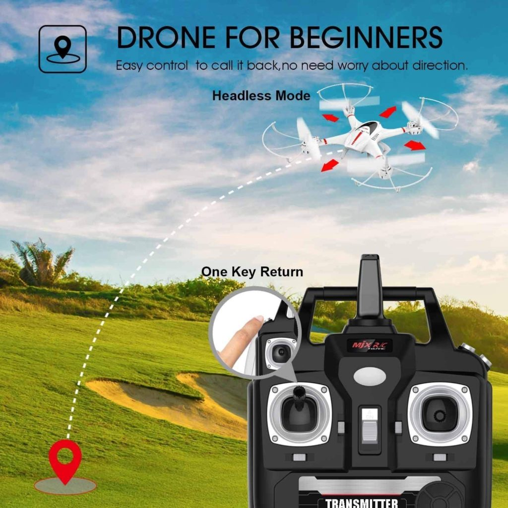 DBPOWER X400W Drone For Beginners
