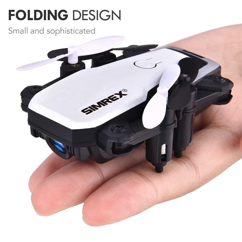 SIMREX-X300C-Mini-Drone-Size