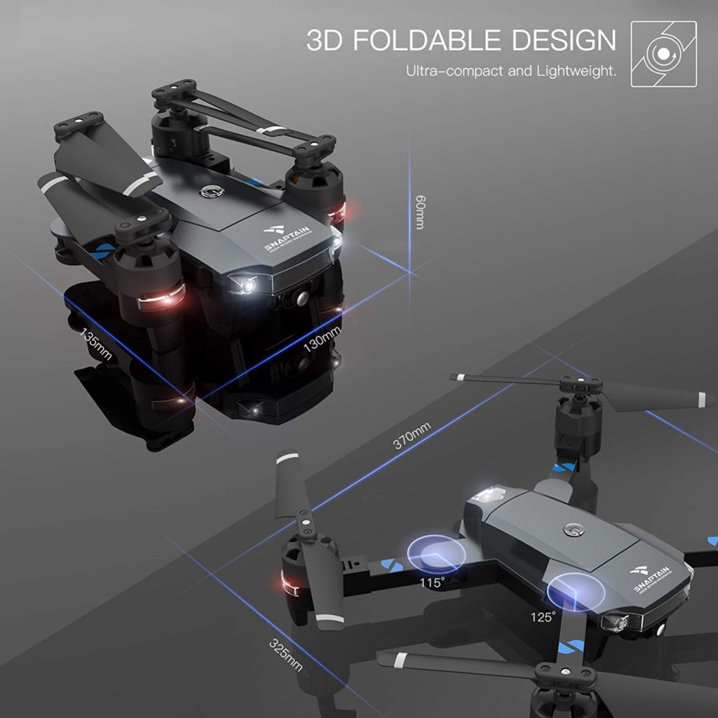 SNAPTAIN A15 Foldable Drone