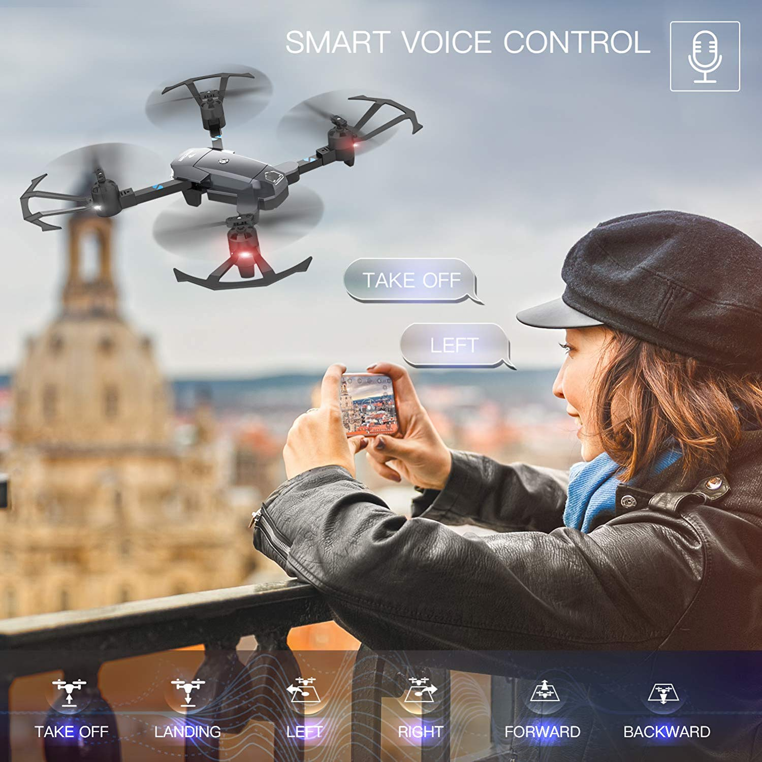 SNAPTAIN A15 Drone