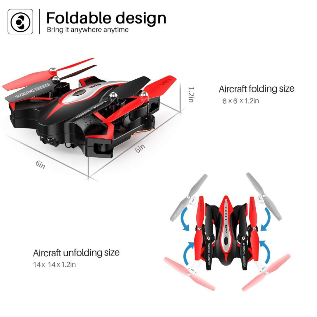 Syma X56W Drone Foldable Design