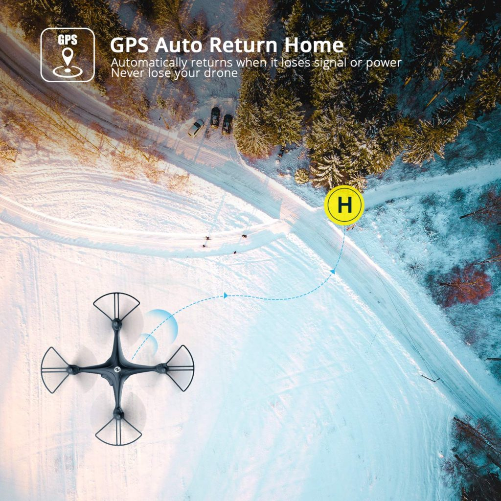 Holy Stone HS120D FPV Drone GPS Auto Return Home