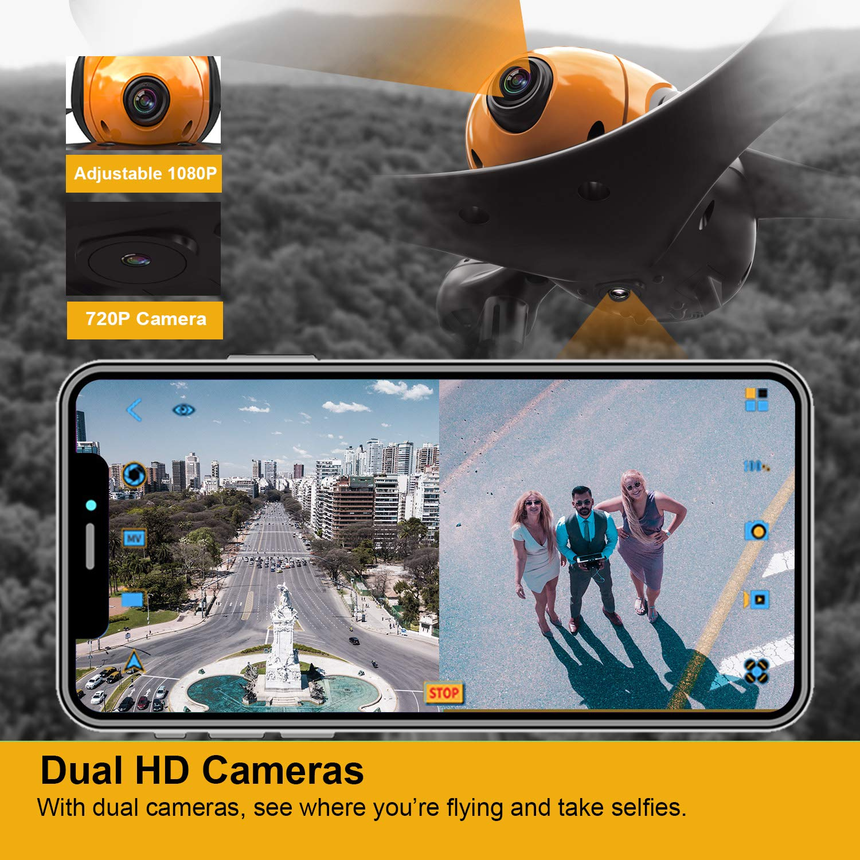ScharkSpark Drone SS41 Dual Camera Drone