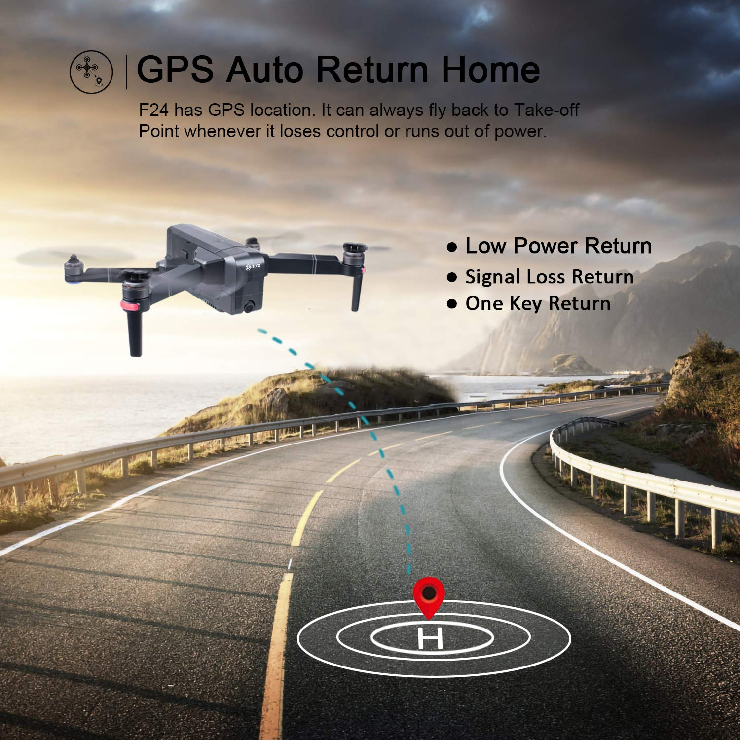 Contixo F24 GPS Auto Return