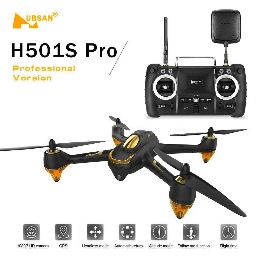 HUBSAN H501s X4 Pro Featuers