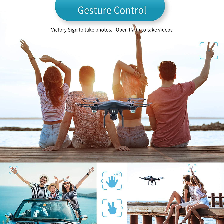 SNAPTAIN SP600 Gesture Control