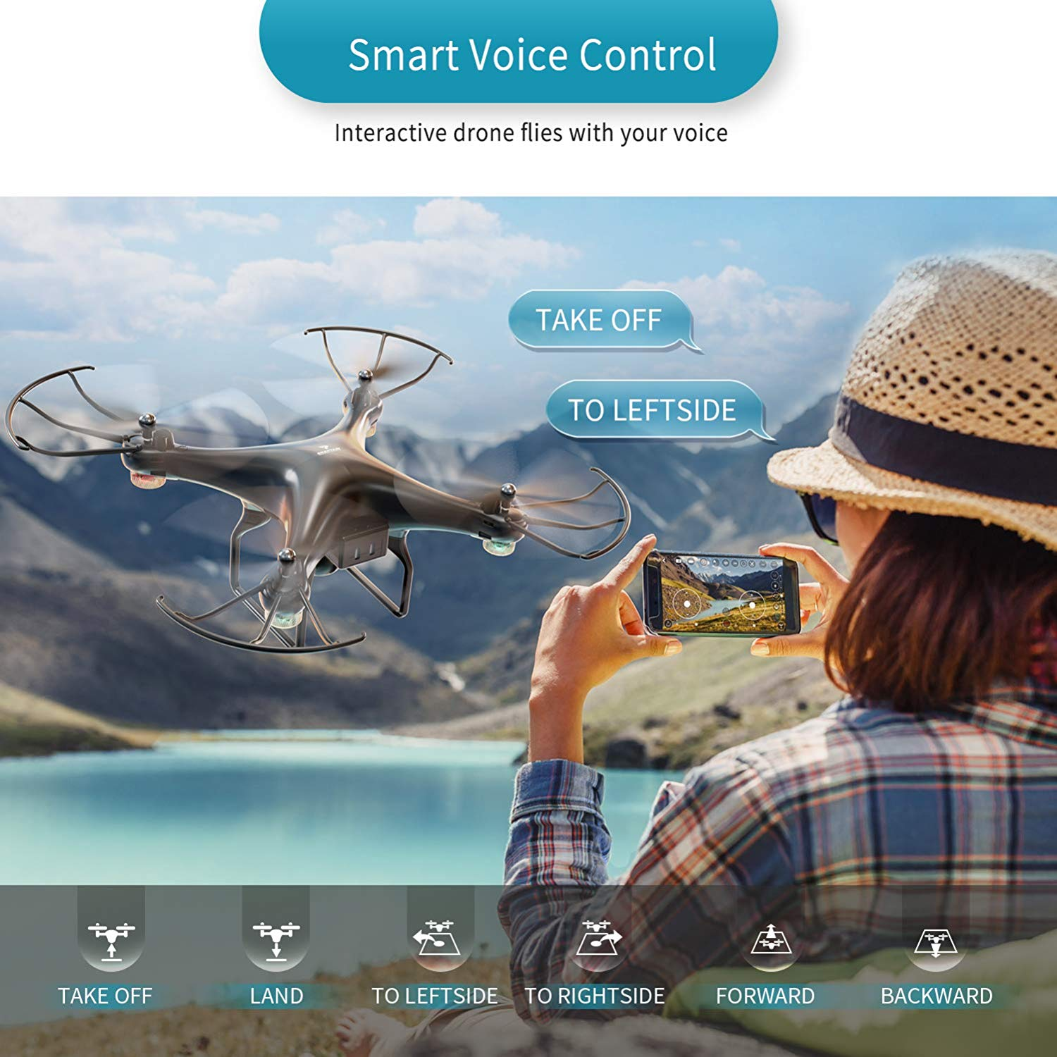 SNAPTAIN SP600 Smart Voice Control