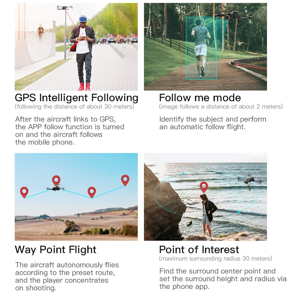 GoolRC SG906 Intelligent Following