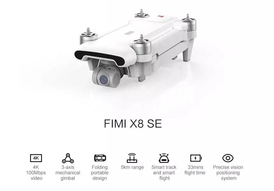 Xiaomi FIMI X8 SE Featuers