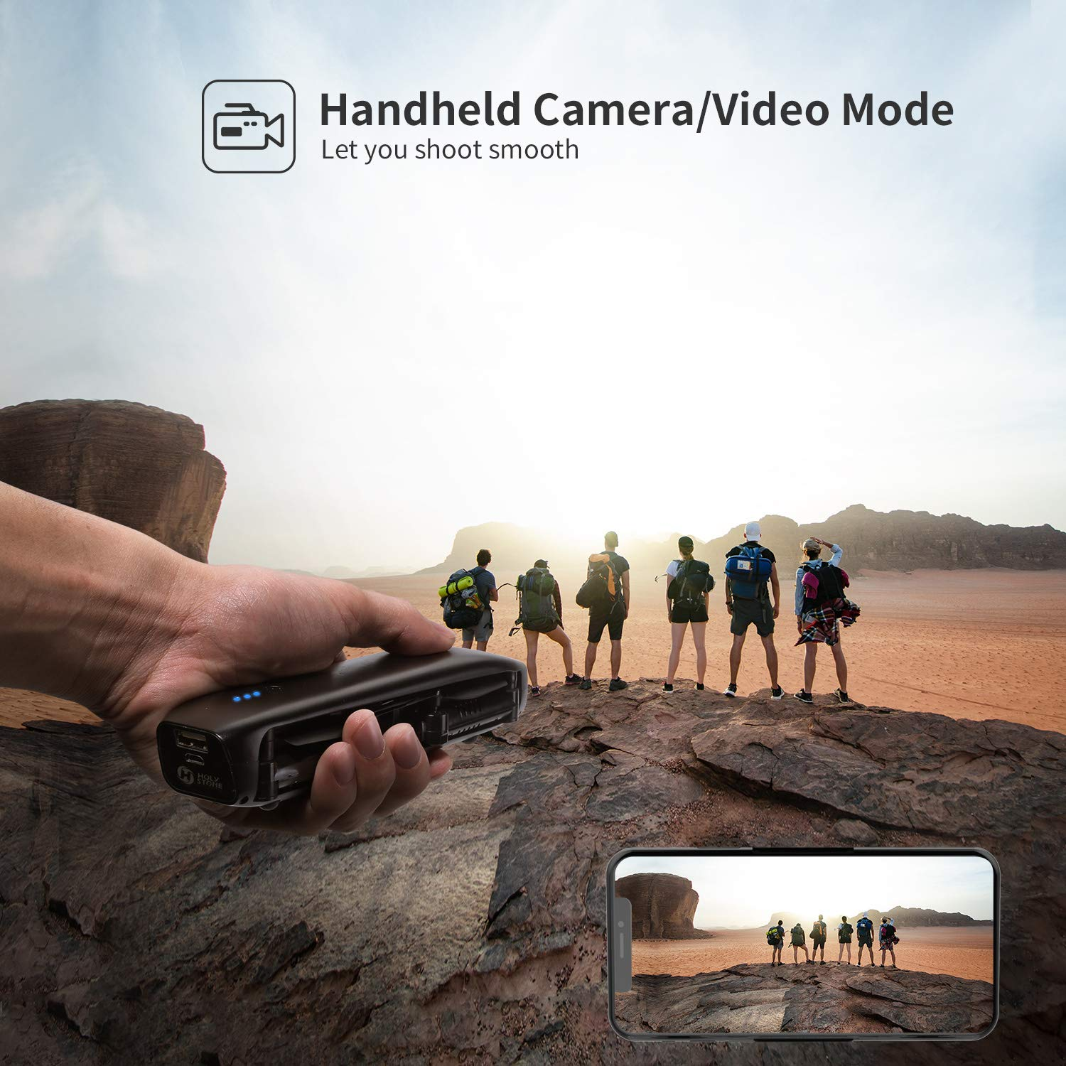 Holy Stone HS161 Handheld Camera and Video Mode