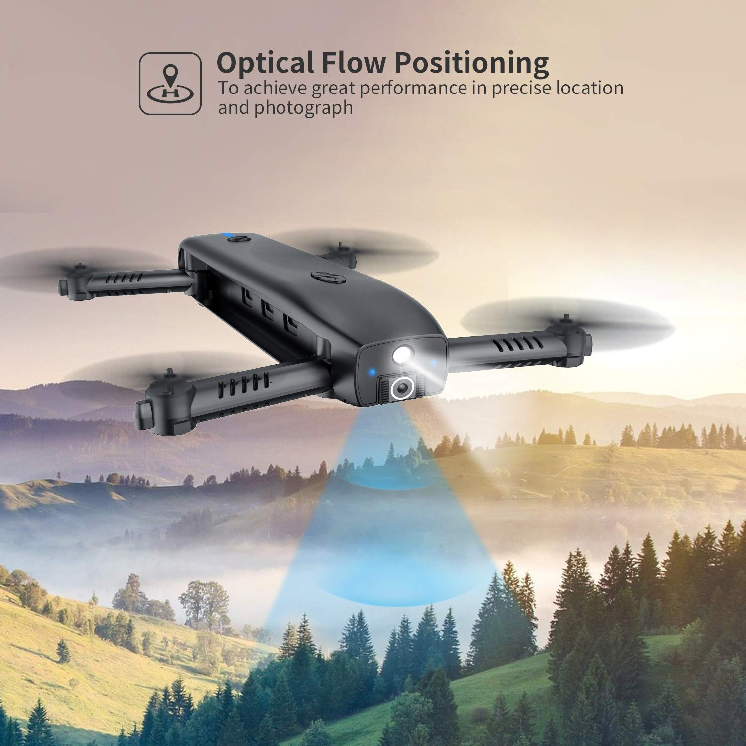 Holy Stone HS161 Optical Flow Positioning