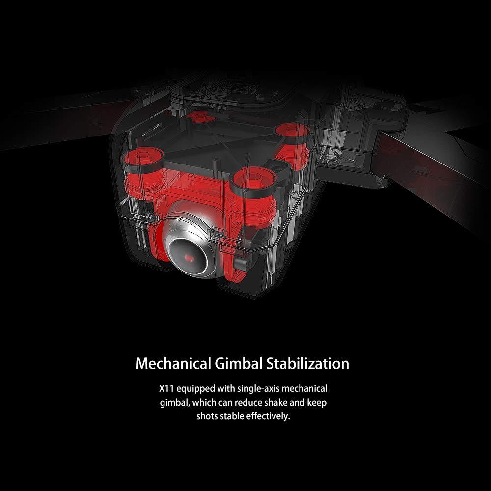 JJRC X11 Mechanical Gimbal Stabilization