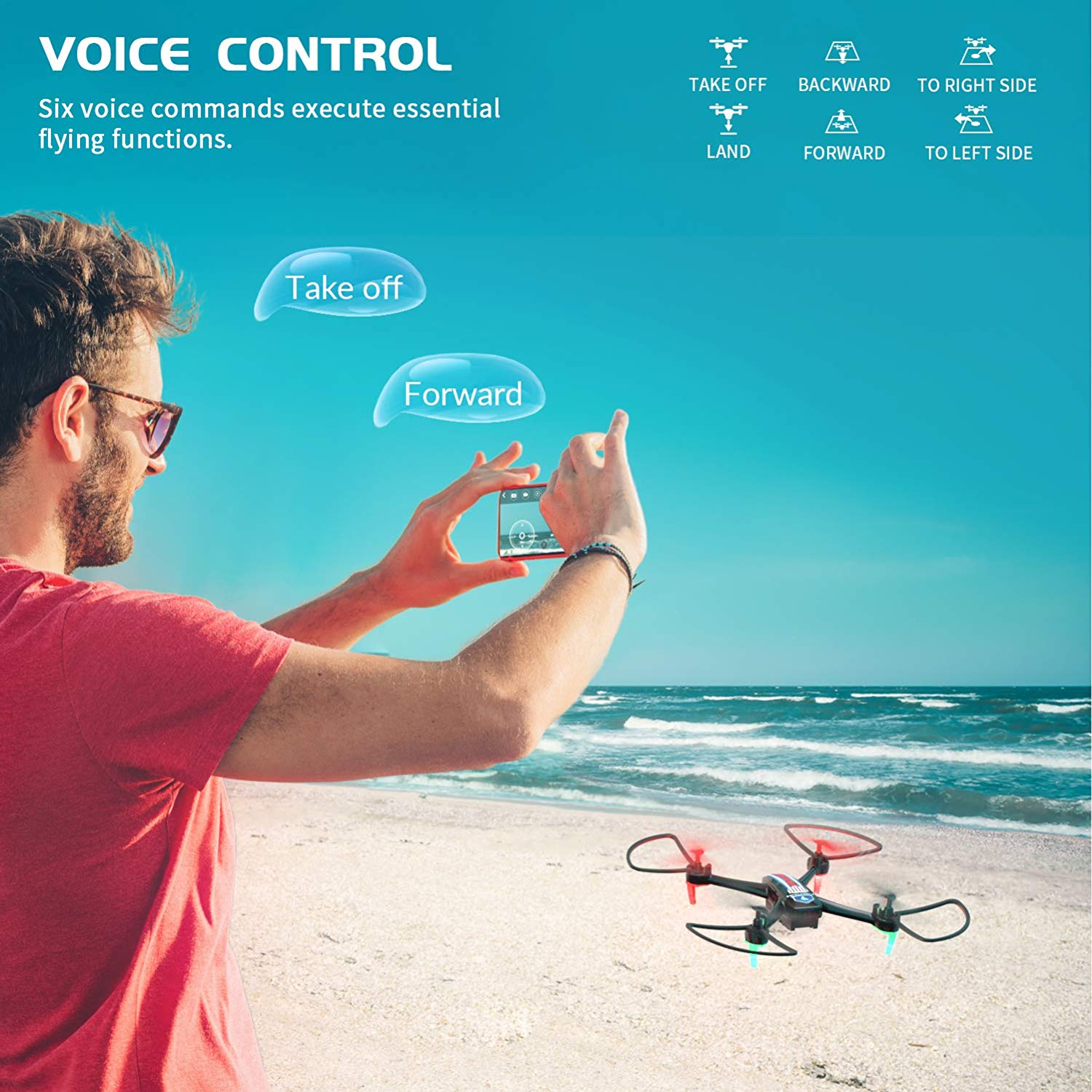 SNAPTAIN SP660 Voice Control