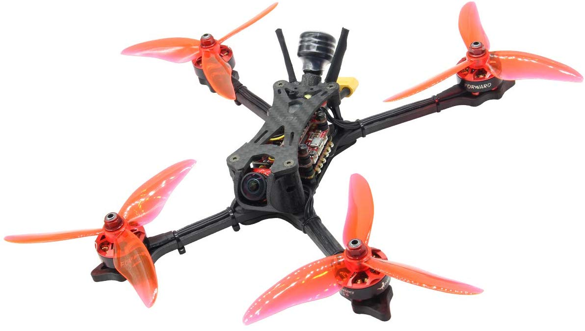 HGLRC Wind5 6S FPV Racing Drone