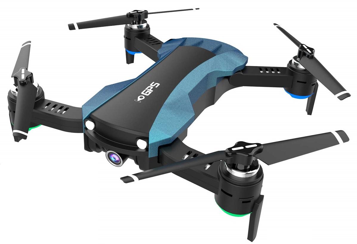 HUKKKYVIT Foldable GPS Drone
