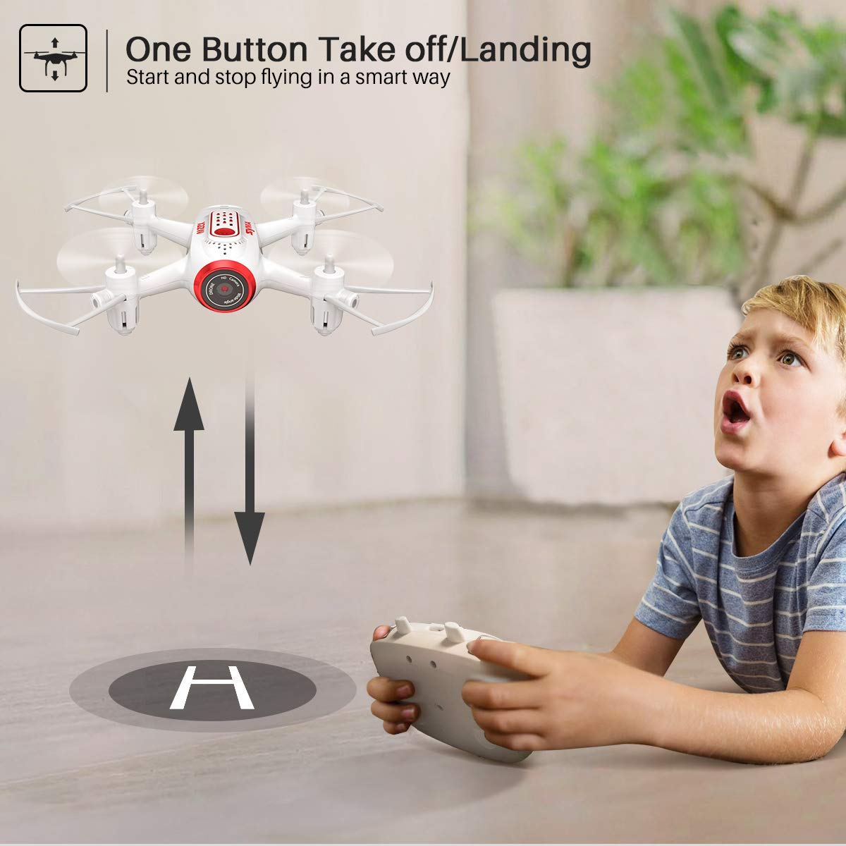SYMA X22W One Button take off and landing