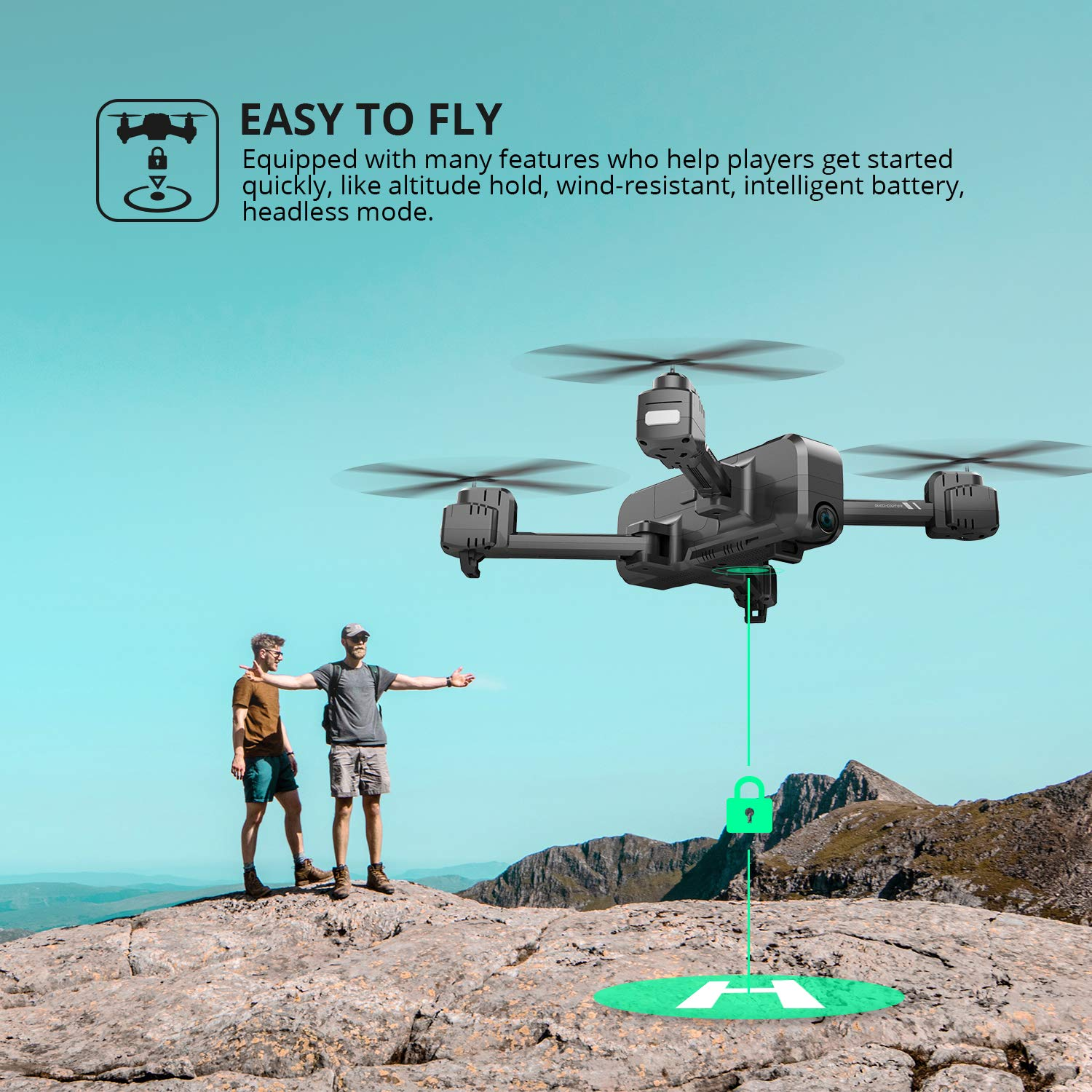 Holy Stone HS270 Easy To Fly Drone