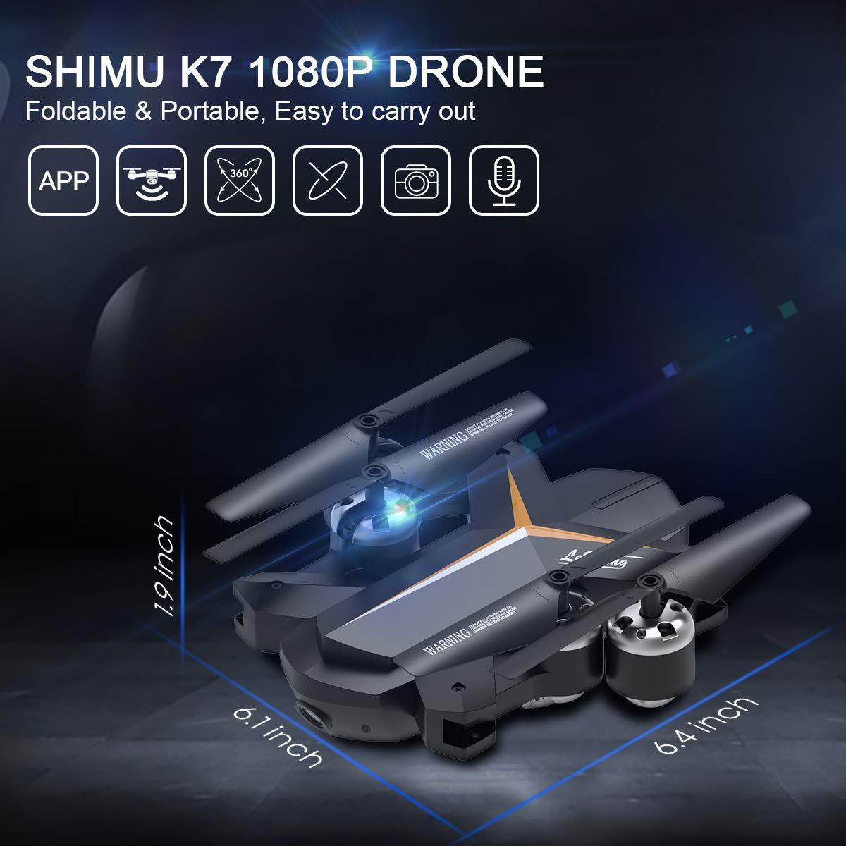 Shimu K7 Small Foldable Drone