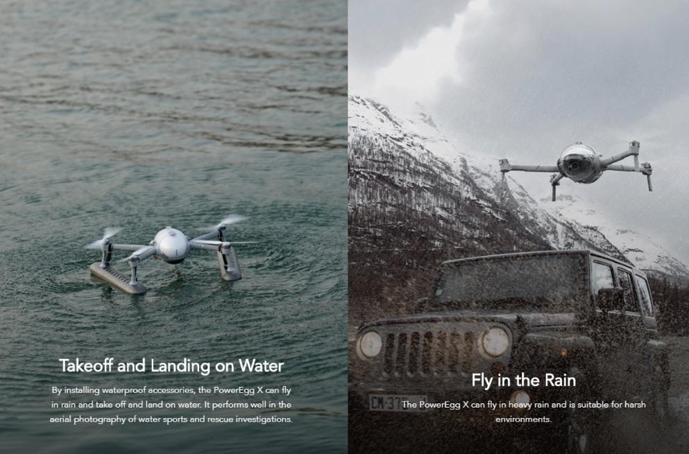 Power Vision PowerEgg X Waterproof drone