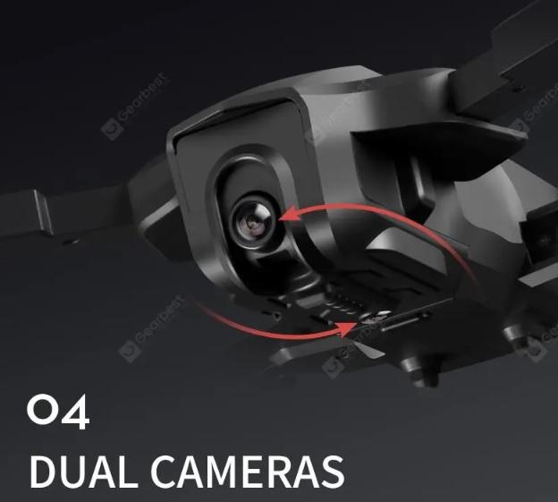 ICAT3 Drone Dual Cameras