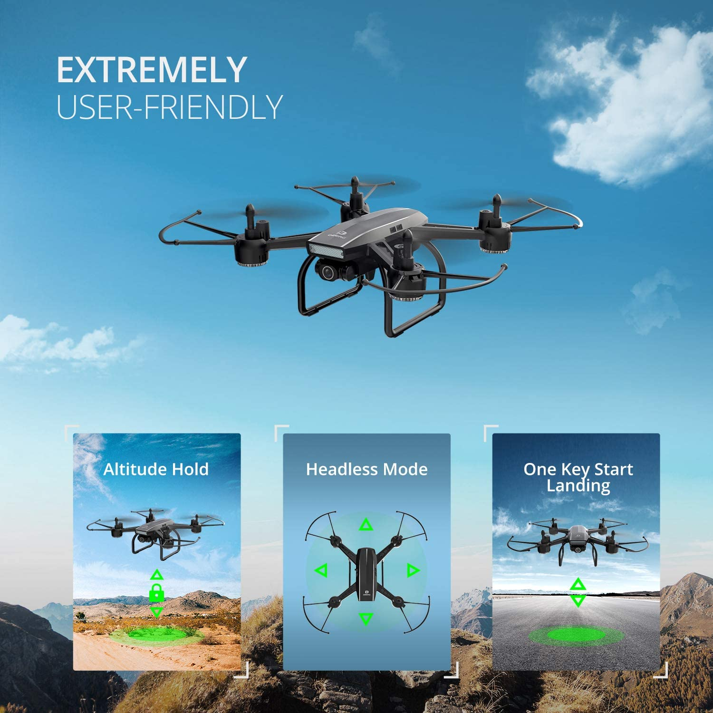 DEERC D50 Drone For Beginners