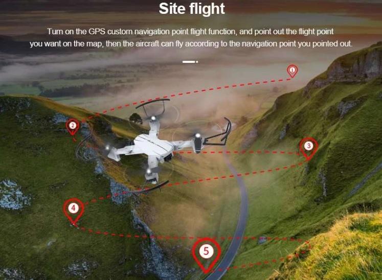 JJRC A353GW Trajectory Flight
