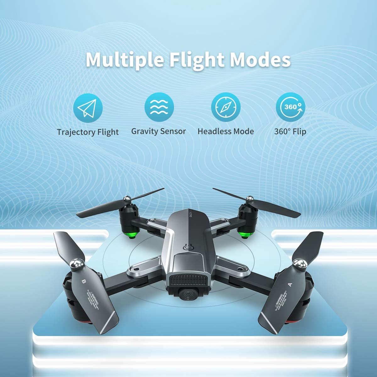 Dragon Touch DF01 Multiple Flight Modes