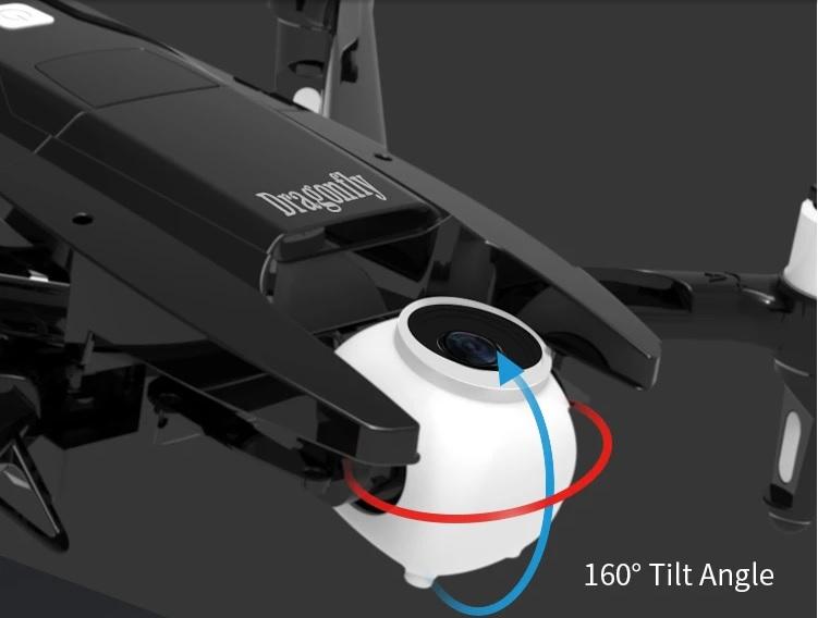JJRC X15 Dragonfly 160 Tilt Angle