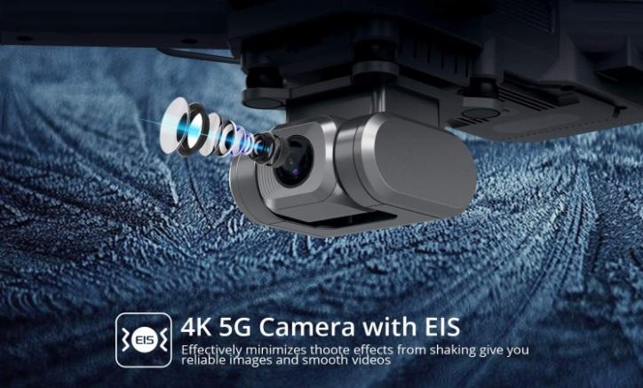 DEERC D15 4K Camera with EIS