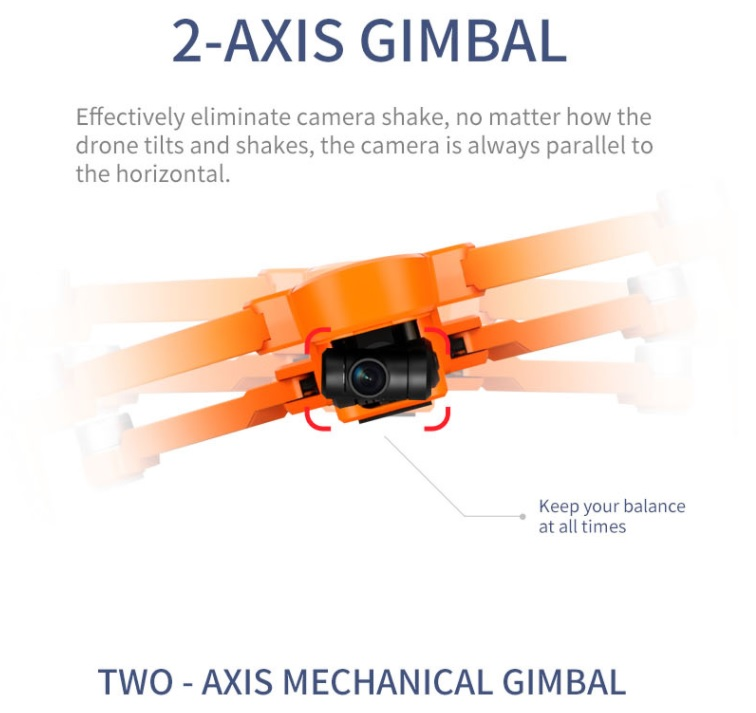 JJRC X17 2 AXIS Gimbel
