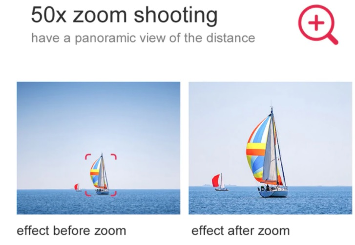 VISUO K1 PRO 50X Zoom Shooting
