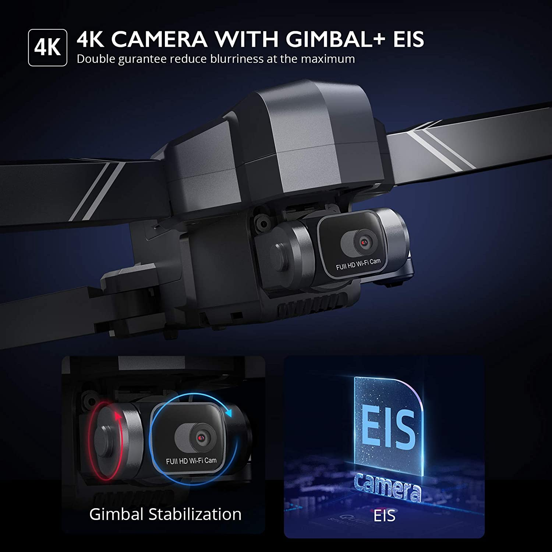 Ruko F11 GIM 4K Camera with Gimbal and EIS