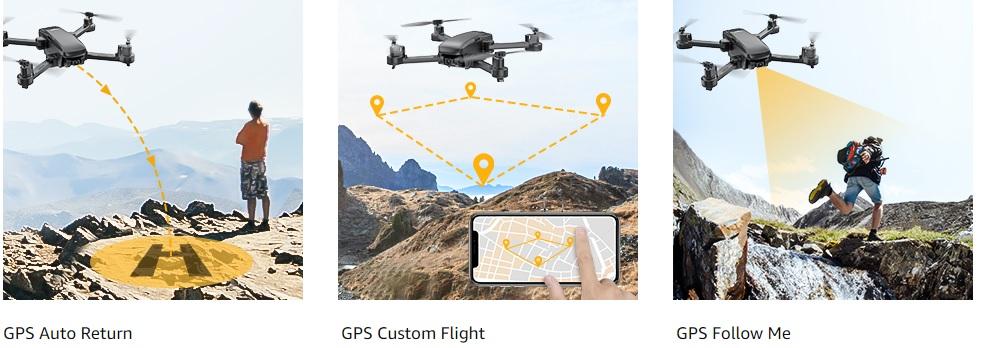 Tomzon D30 Flight Functions