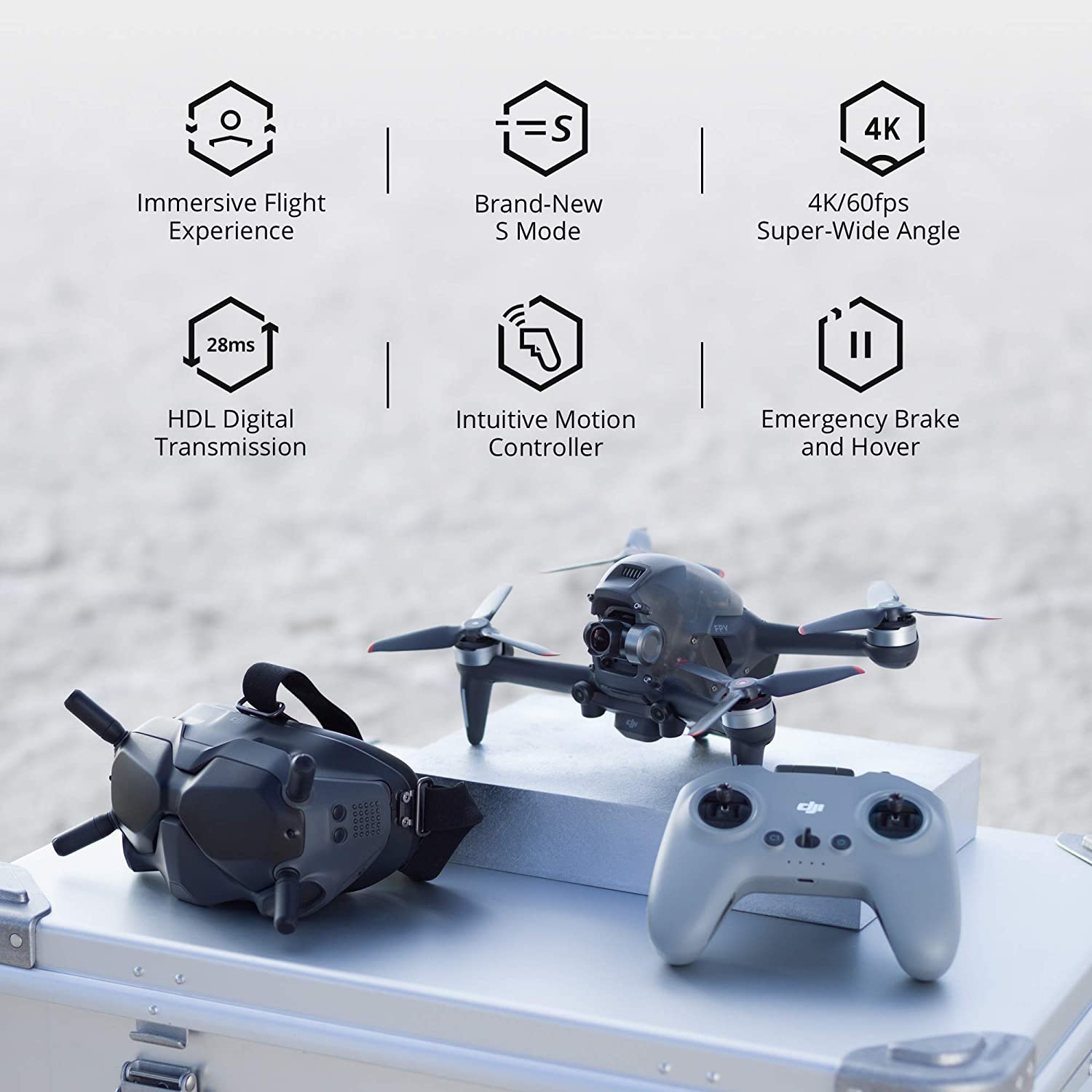 DJI FPV Drone Main Features