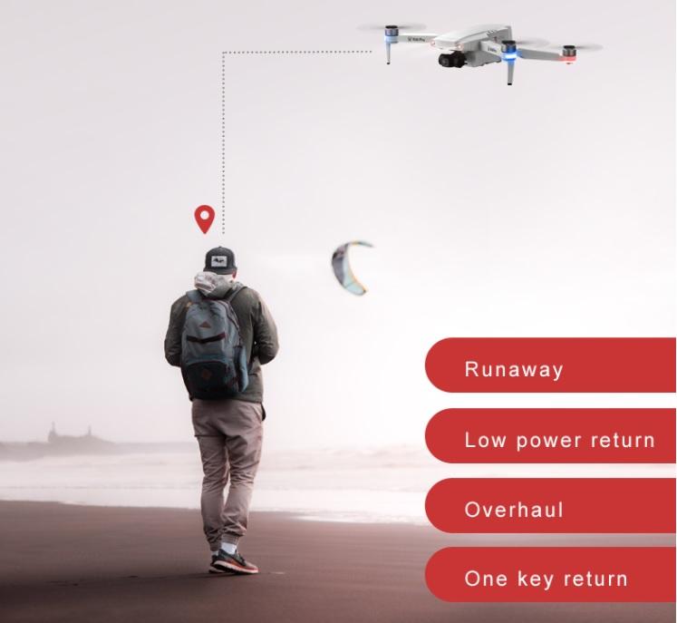 XLURC L106 Pro GPS Smart Return