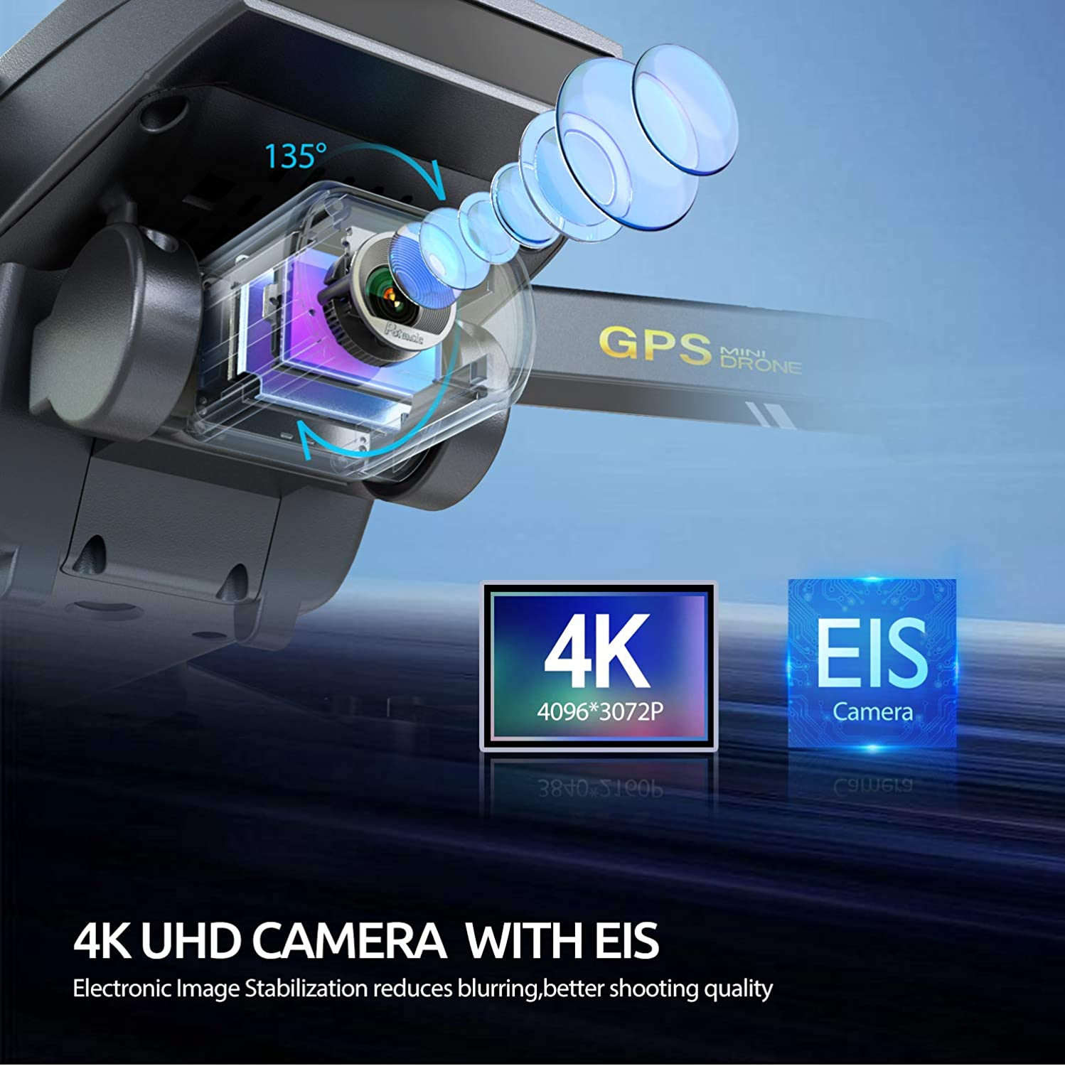 Tomzon D40 4K UHD Camera With EIS