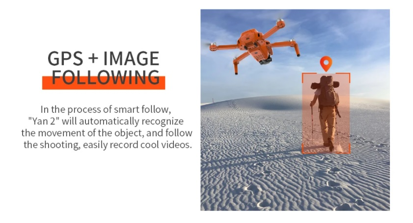 ZLL SG108 PRO Intelligent Follow