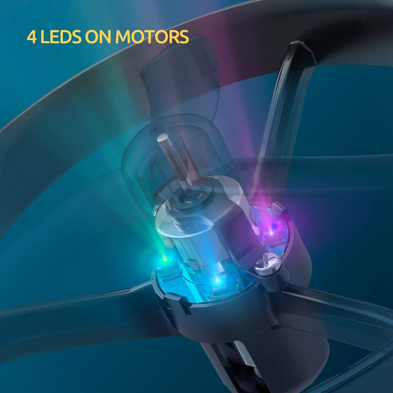 Tomzon A31 Leds on Motors