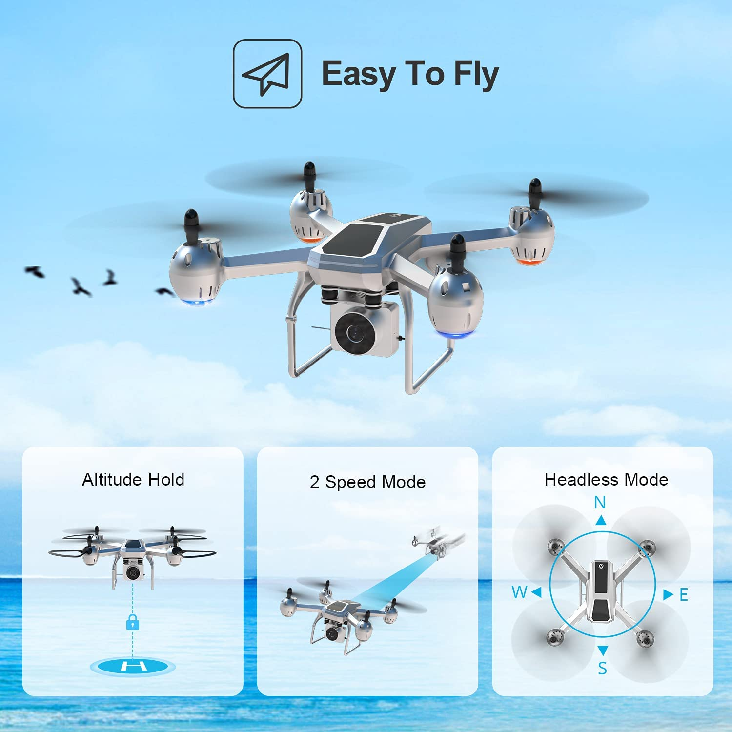 Holy Stone HS140 Easy To Fly Drone