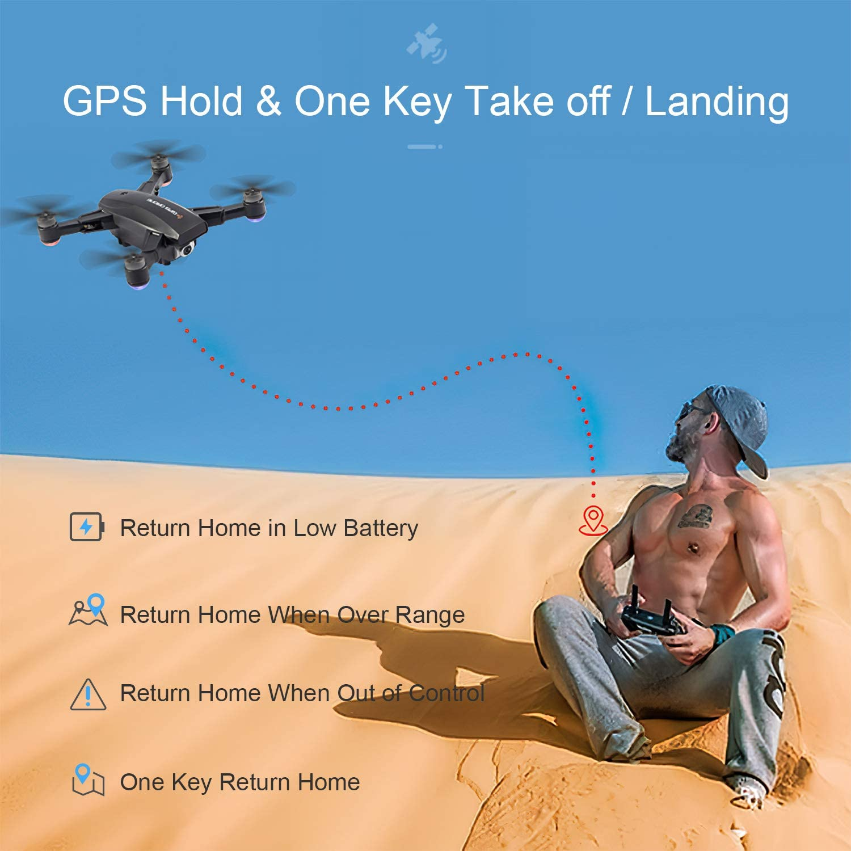 LOPOM X11 GPS - Auto Return Home