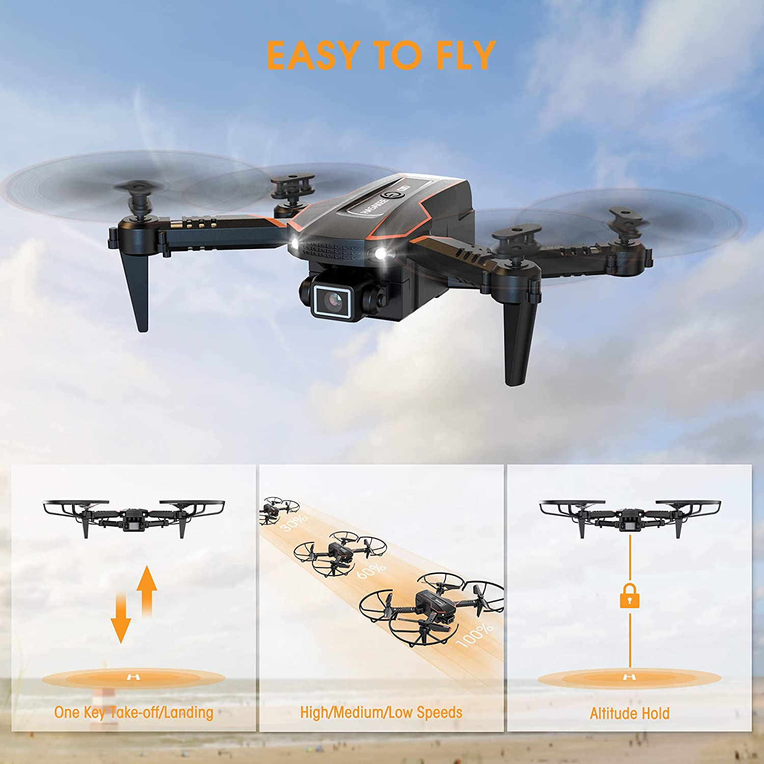 Q10 Mini Easy To Fly Drone For Kids